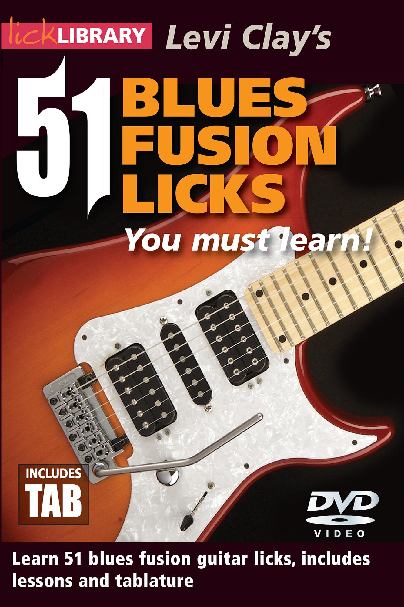 51 Blues Fusion Licks