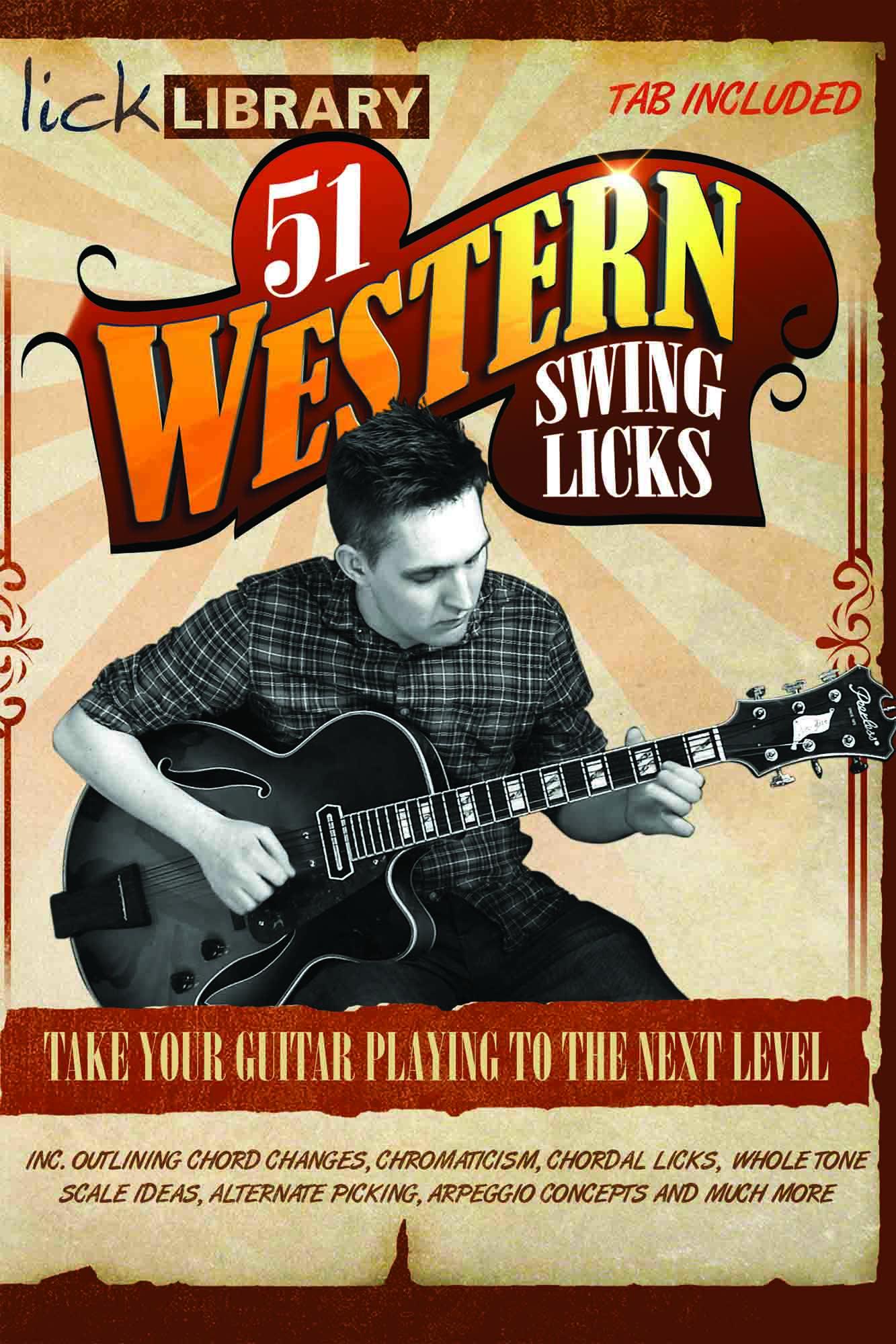 51 Western Swing Licks
