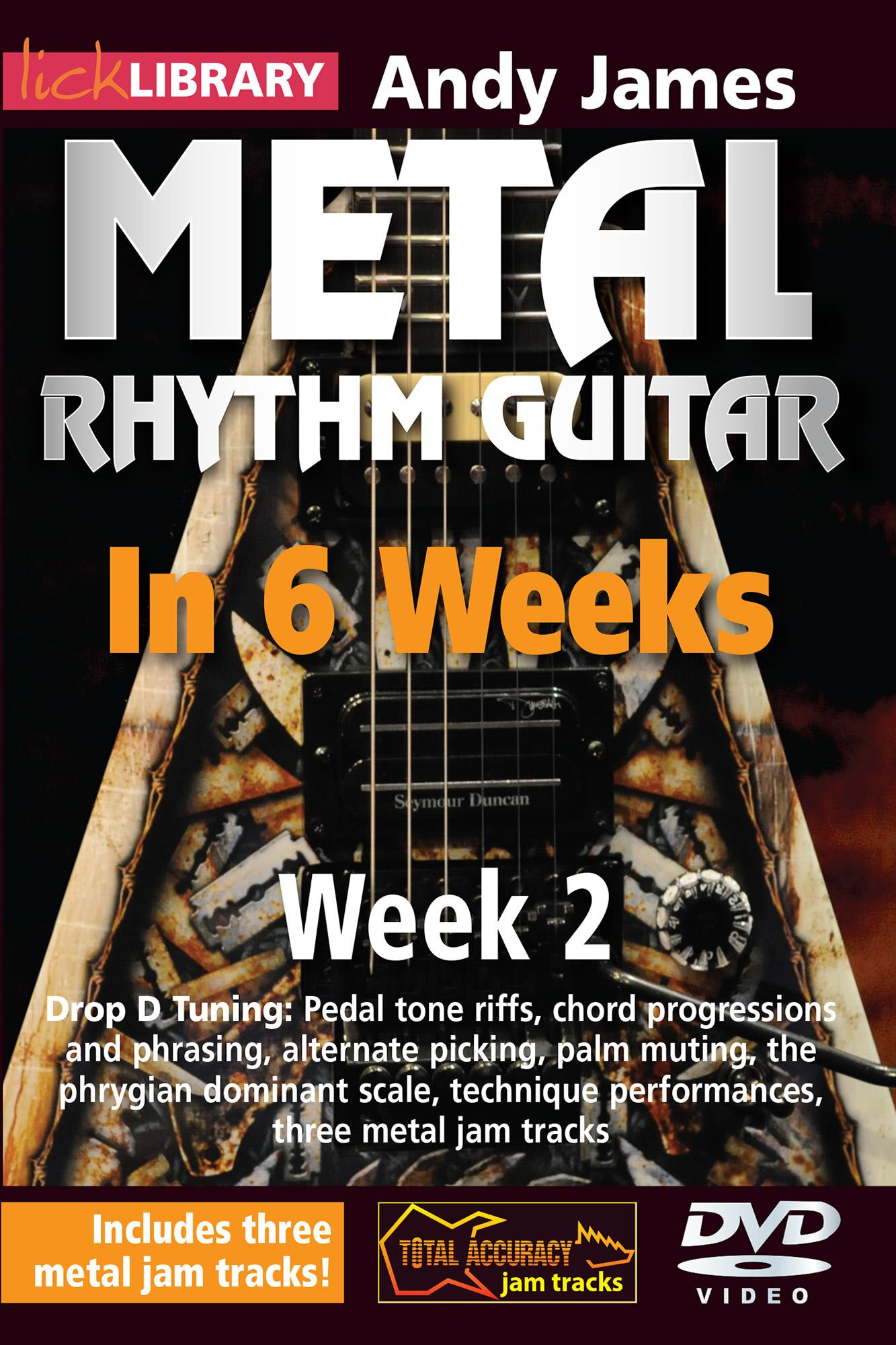 Metal Rhythm Guitar In 6 Weeks - Week 2