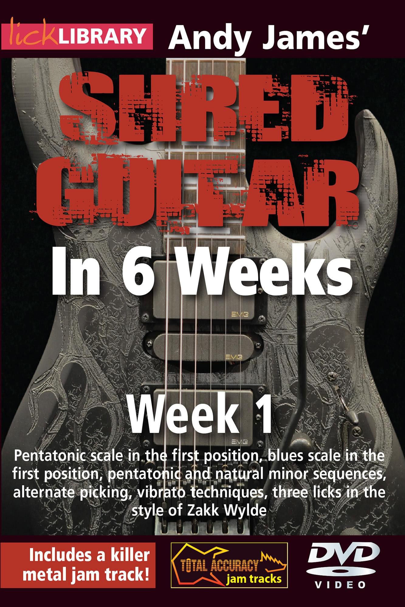 Shred Guitar In 6 Weeks - Week 1