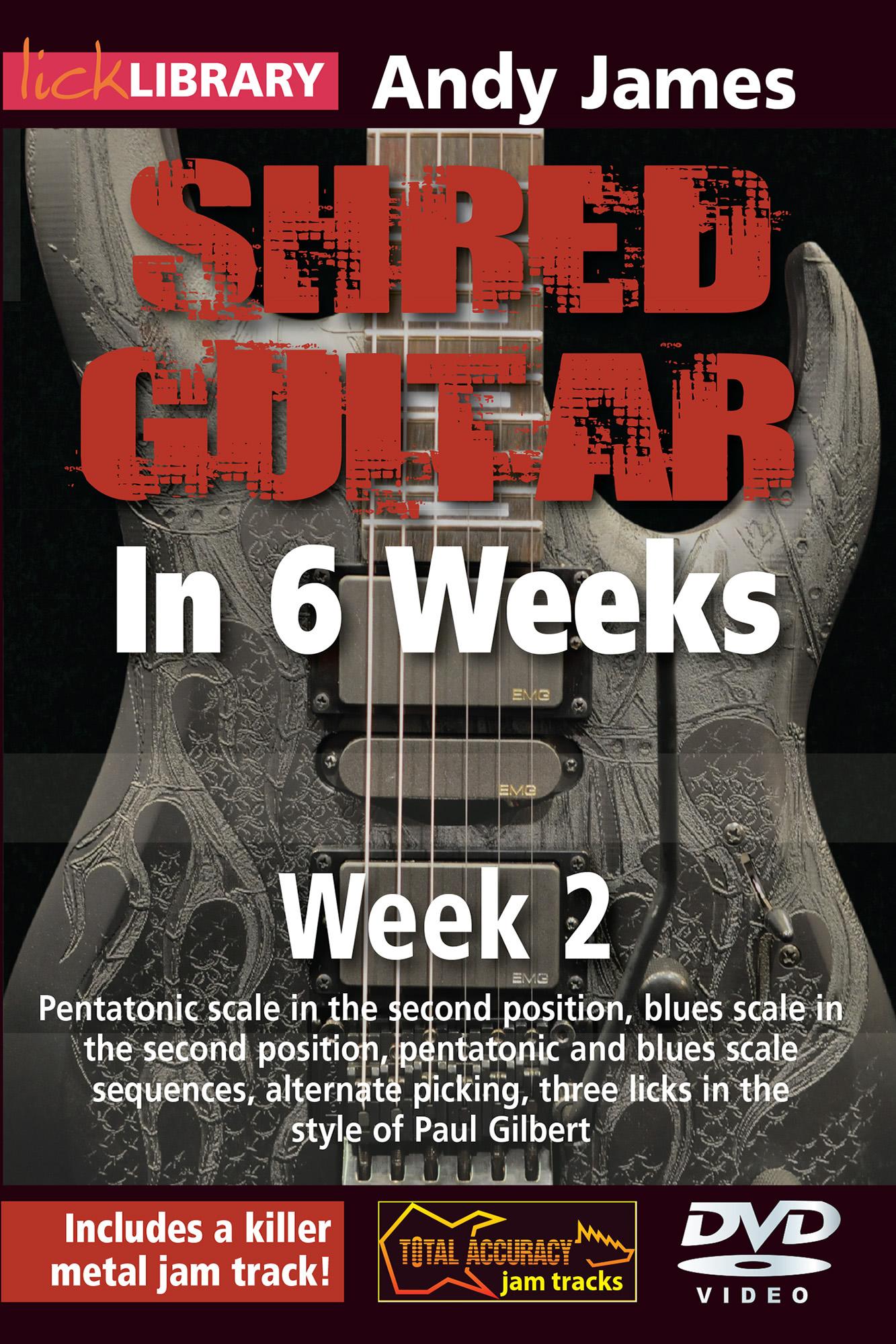 Shred Guitar In 6 Weeks - Week 2