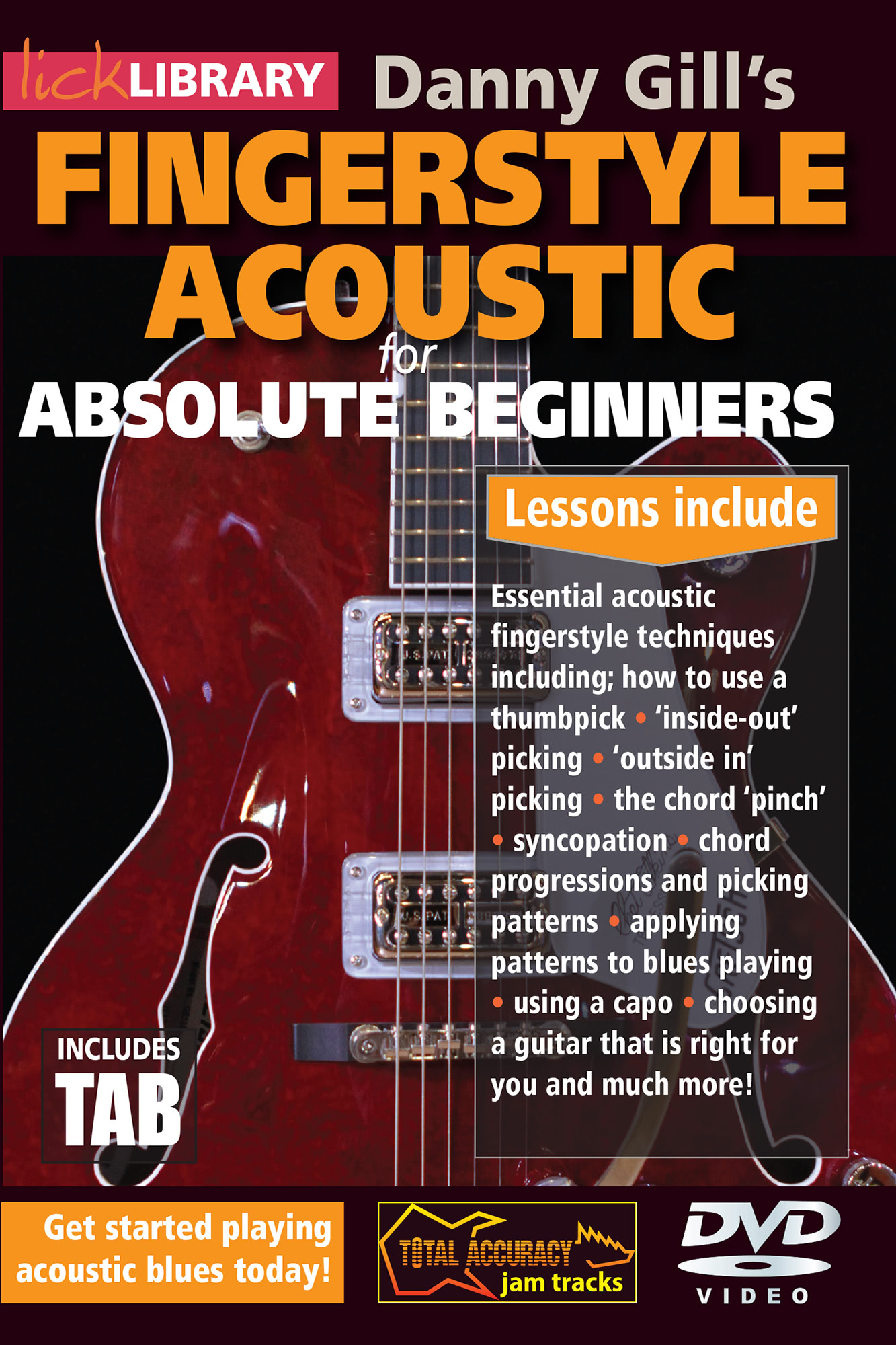Acoustic Fingerstyle For Absolute Beginners