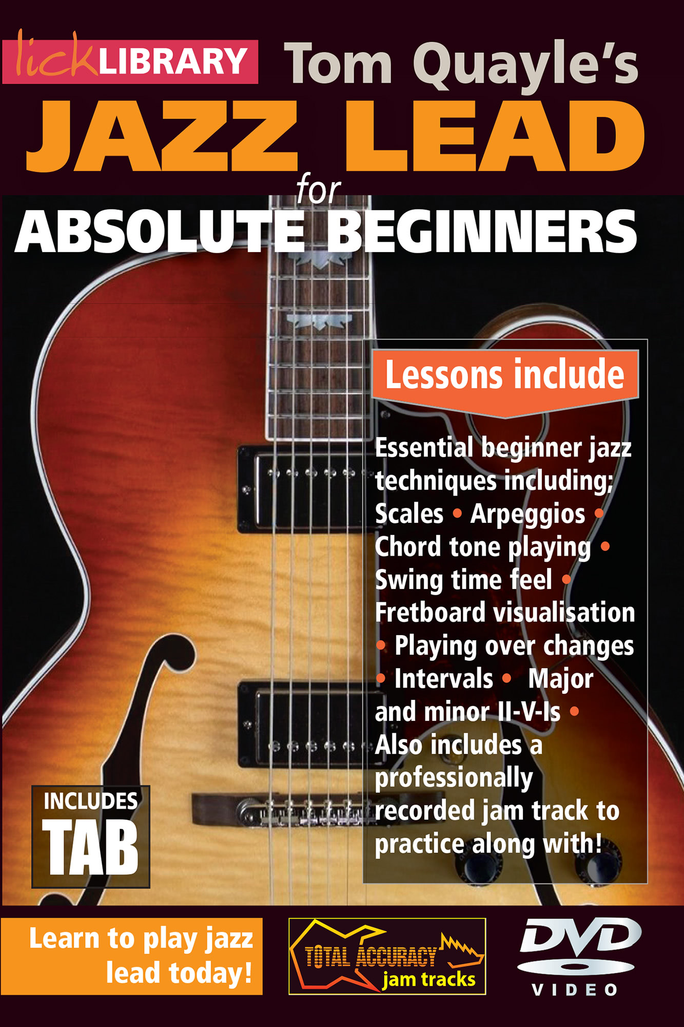 Jazz Lead Guitar for Absolute Beginners