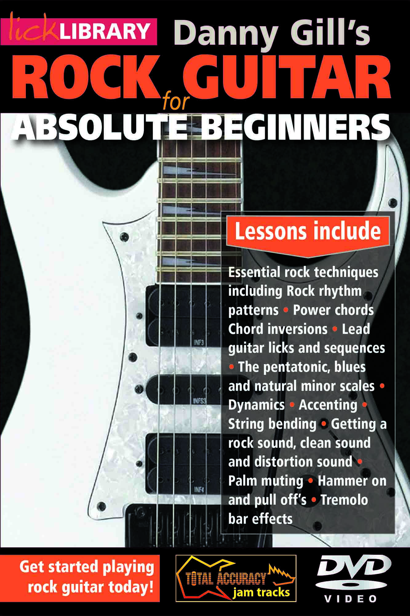 Rock Guitar For Absolute Beginners