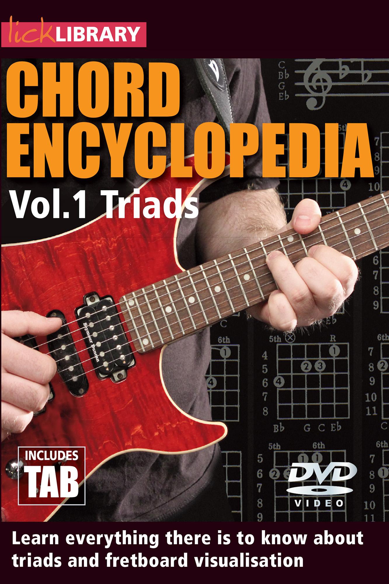 Chord Encyclopedia Volume 1  -Triads