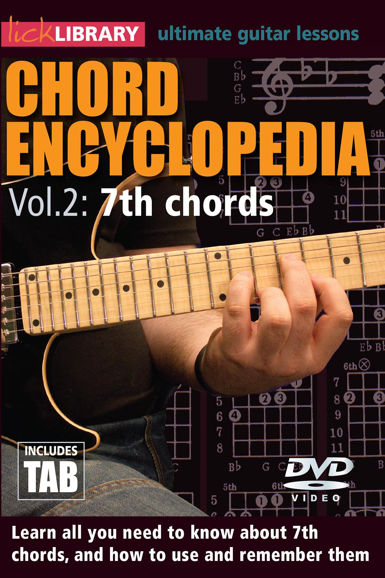 Chord Encyclopedia Volume 2 - 7th Chords