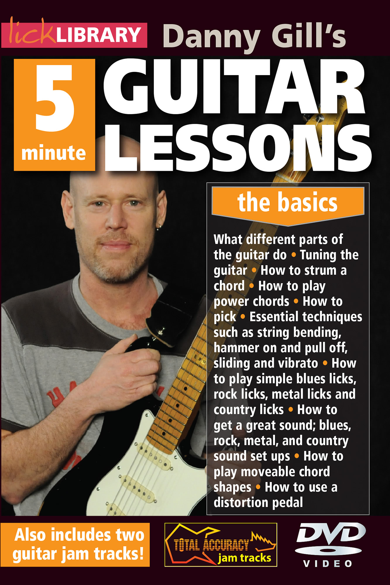 Danny Gill's 5 Minute Guitar Lessons