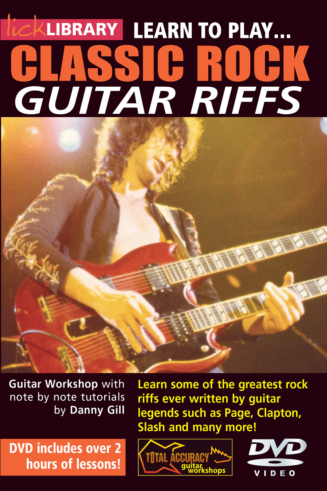 Learn To Play 20 Classic Rock Riffs