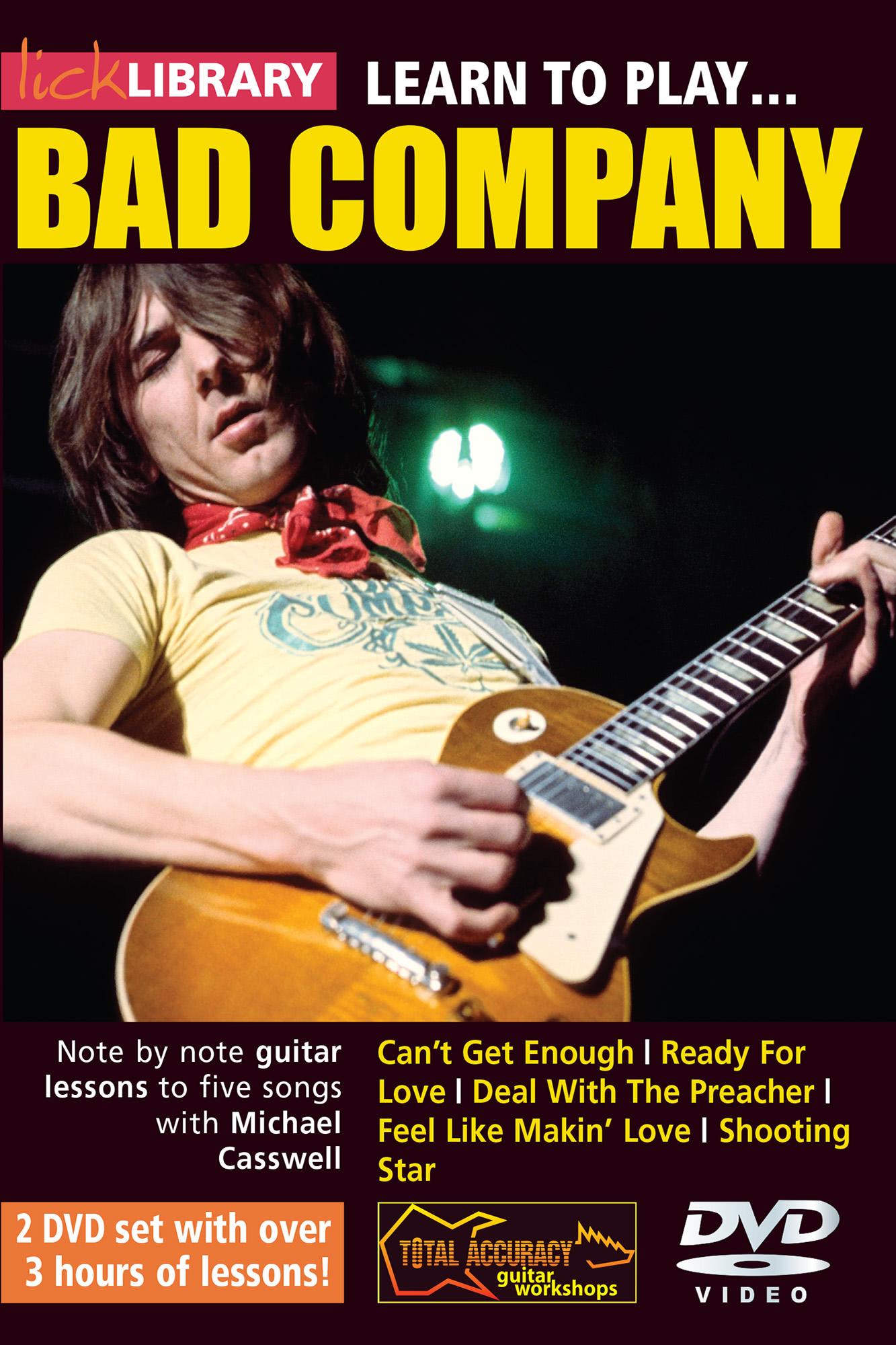 Learn To Play Bad Company