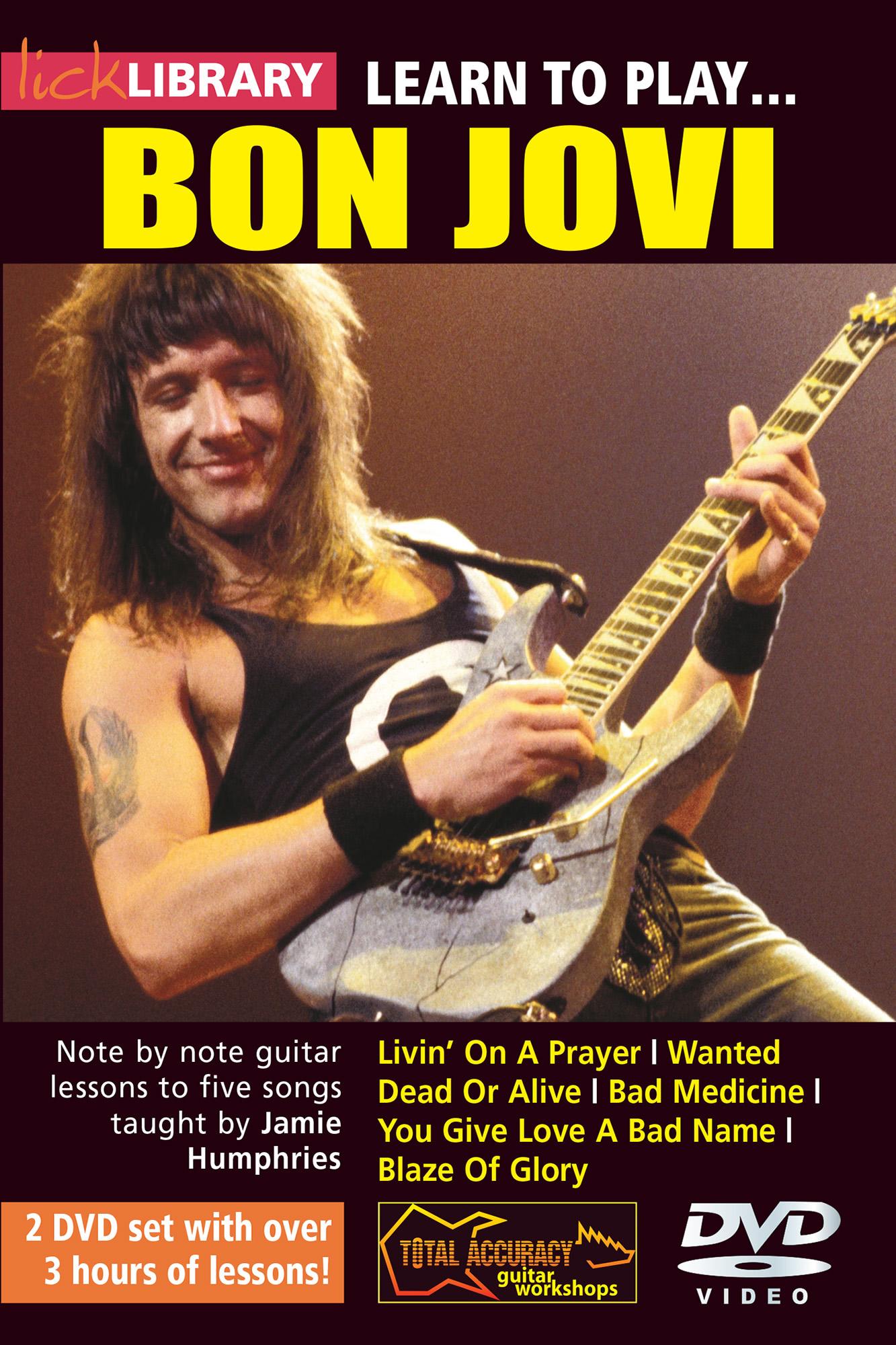 Learn To Play Bon Jovi