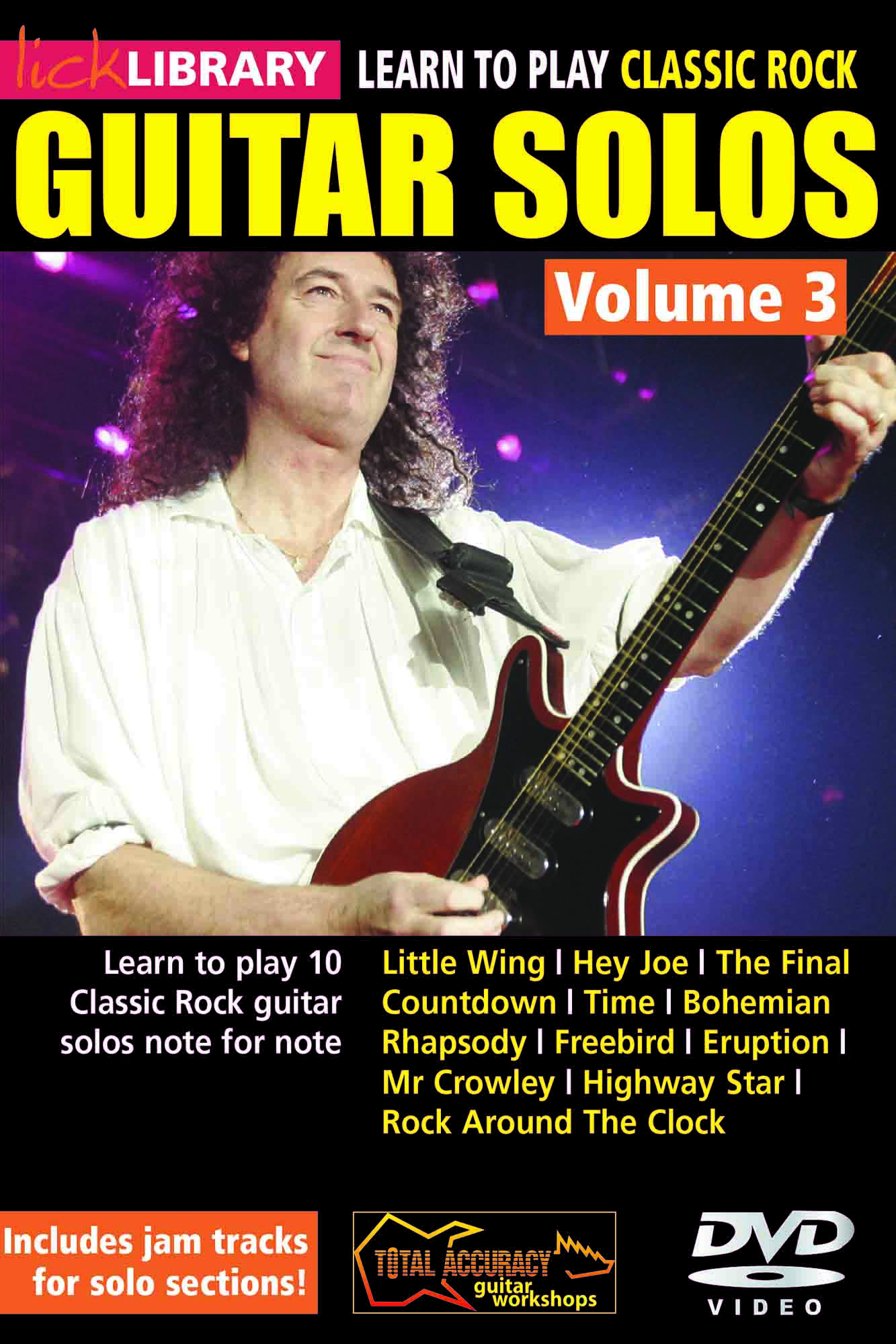 Learn To Play Classic Rock Guitar Solos Volume 3