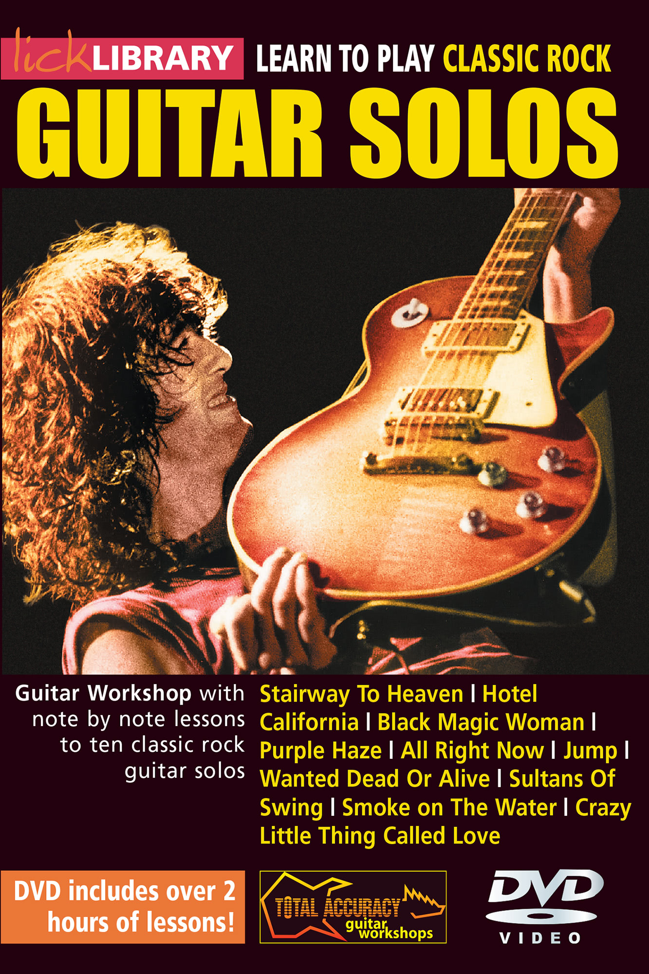 Learn To Play Classic Rock Guitar Solos