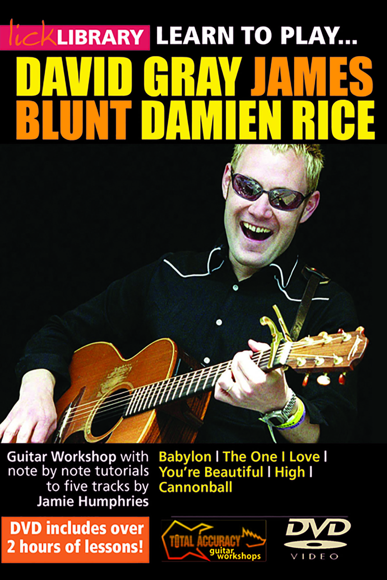 Learn To Play David Gray, James Blunt & Damien Rice
