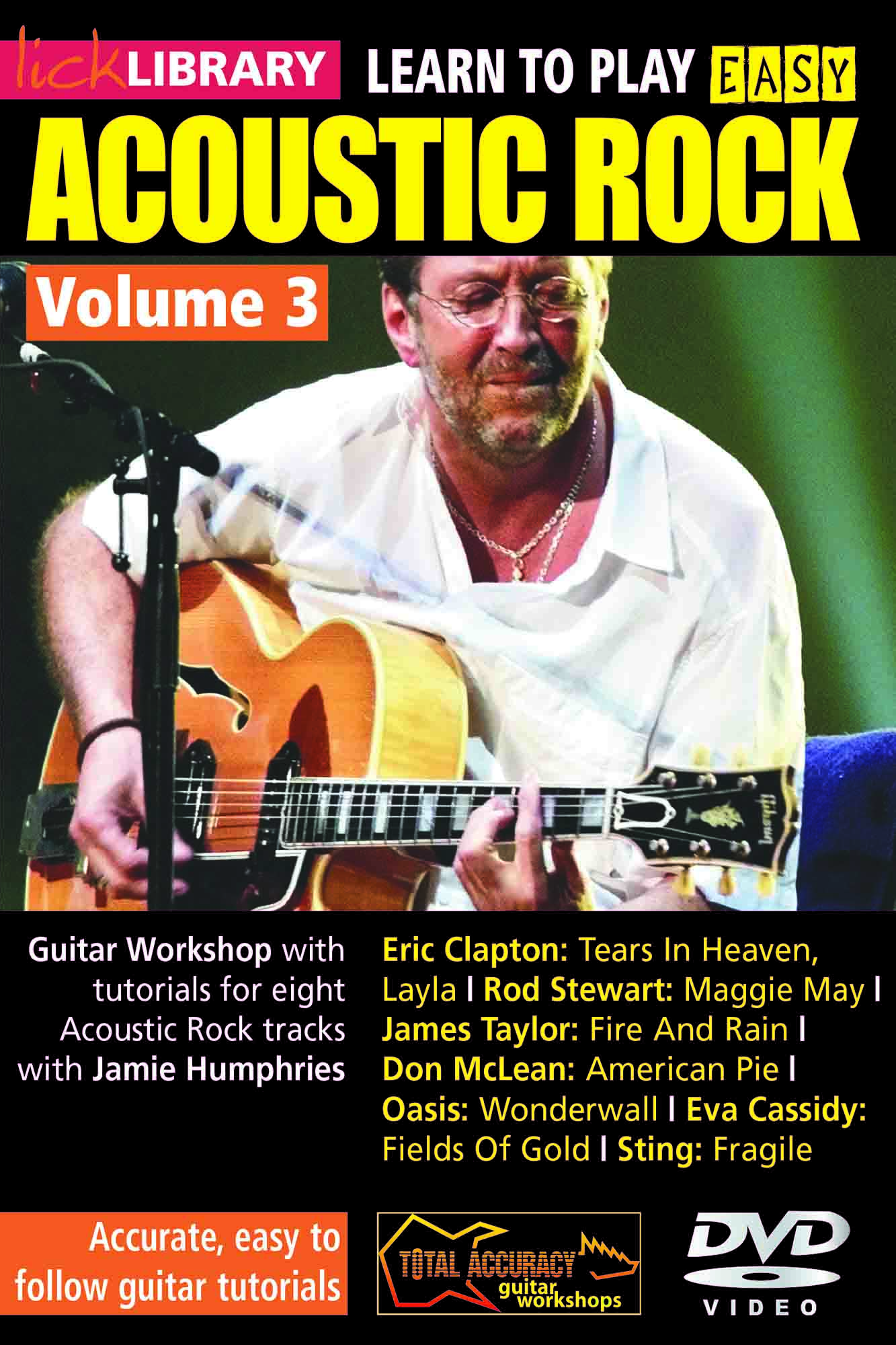 Learn To Play Easy Acoustic Rock Volume 3