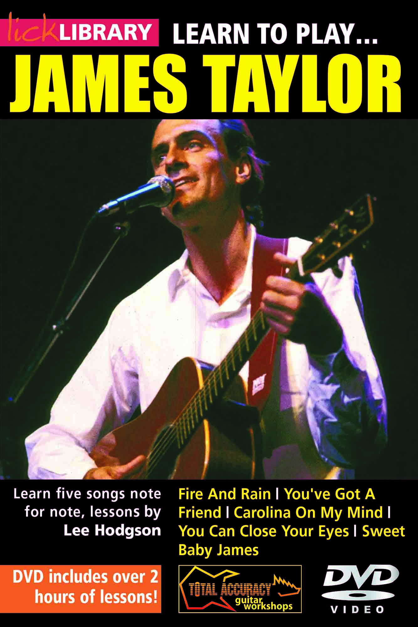 Learn To Play James Taylor