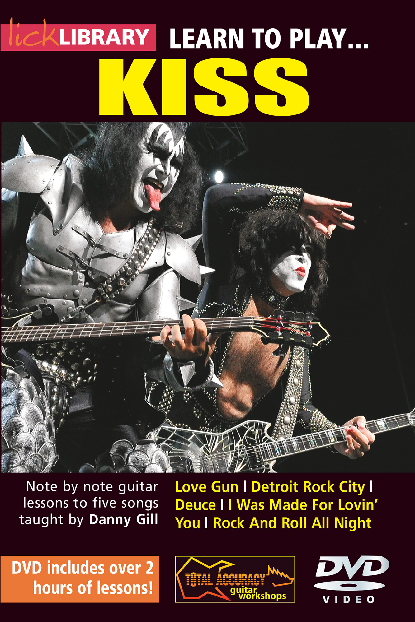 Learn To Play Kiss