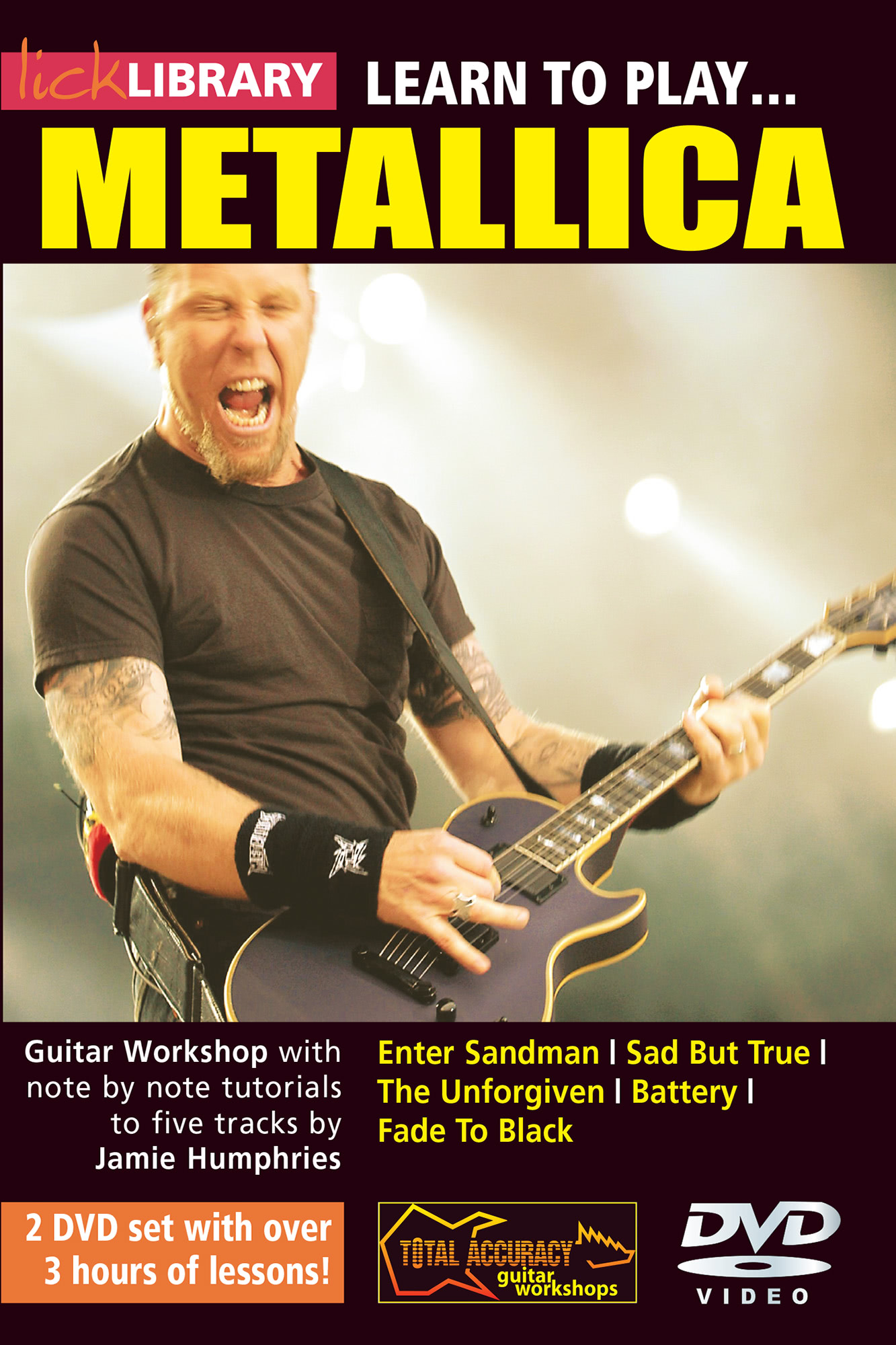 Learn To Play Metallica Volume 1