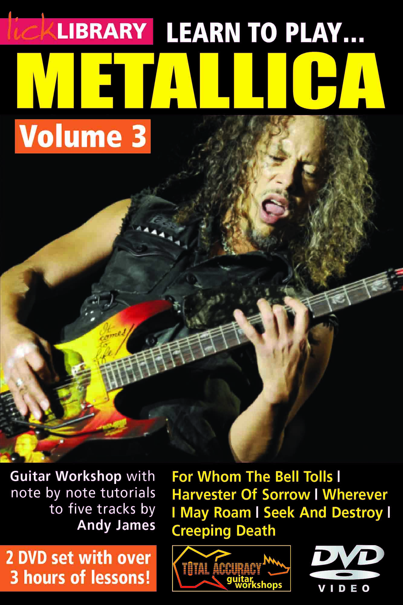 Learn To Play Metallica Volume 3