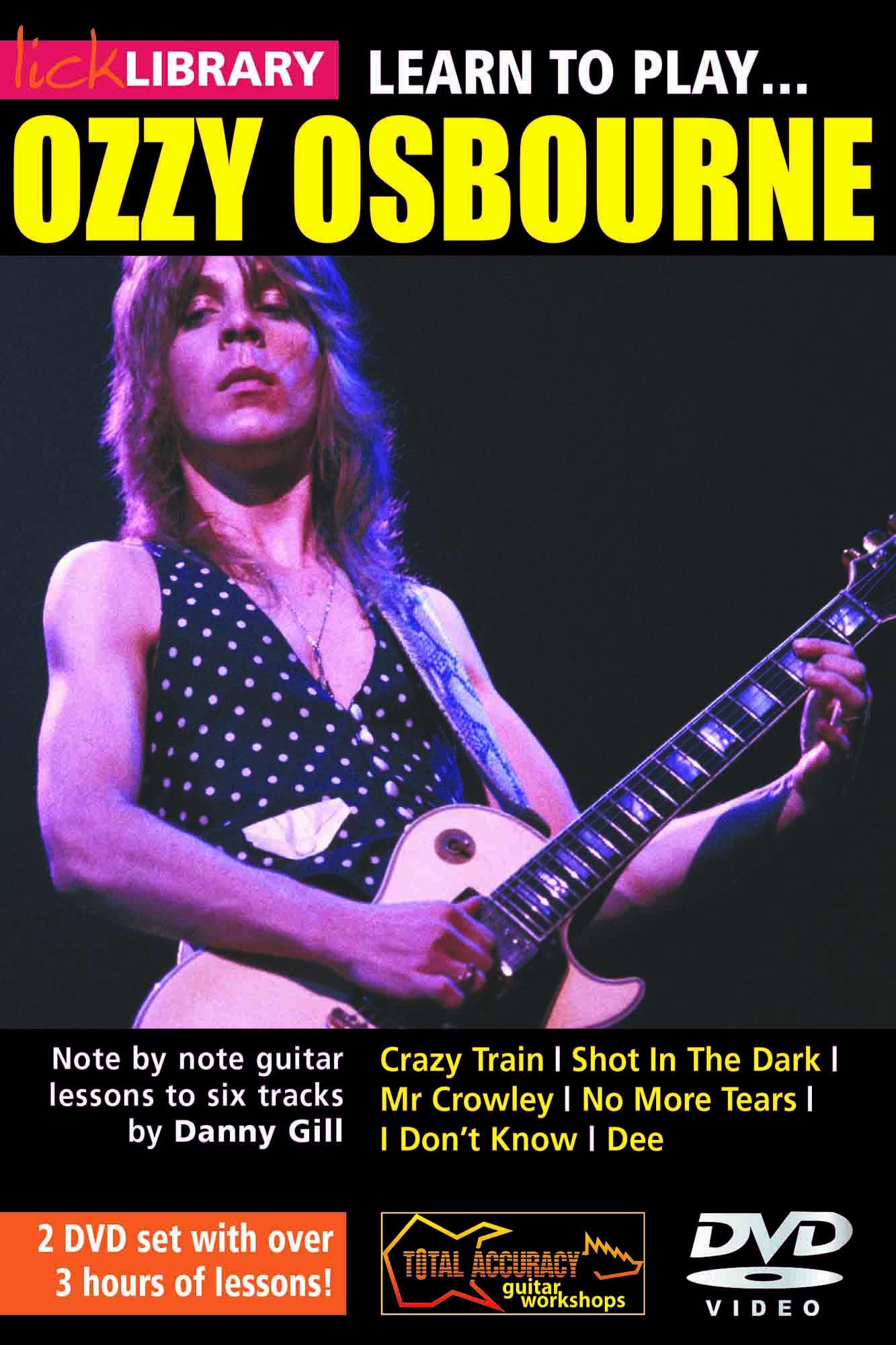 Learn To Play Ozzy Osbourne