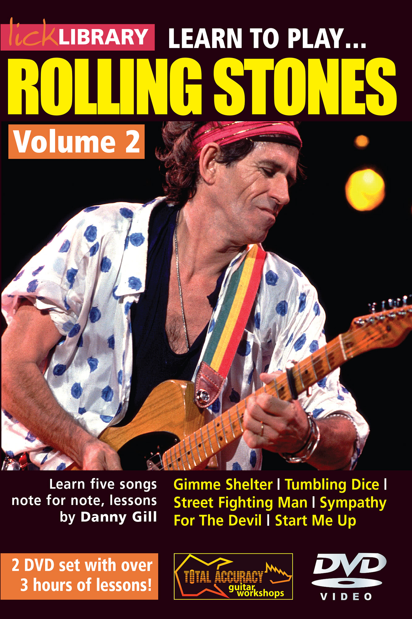 Learn To Play Rolling Stones Volume 2