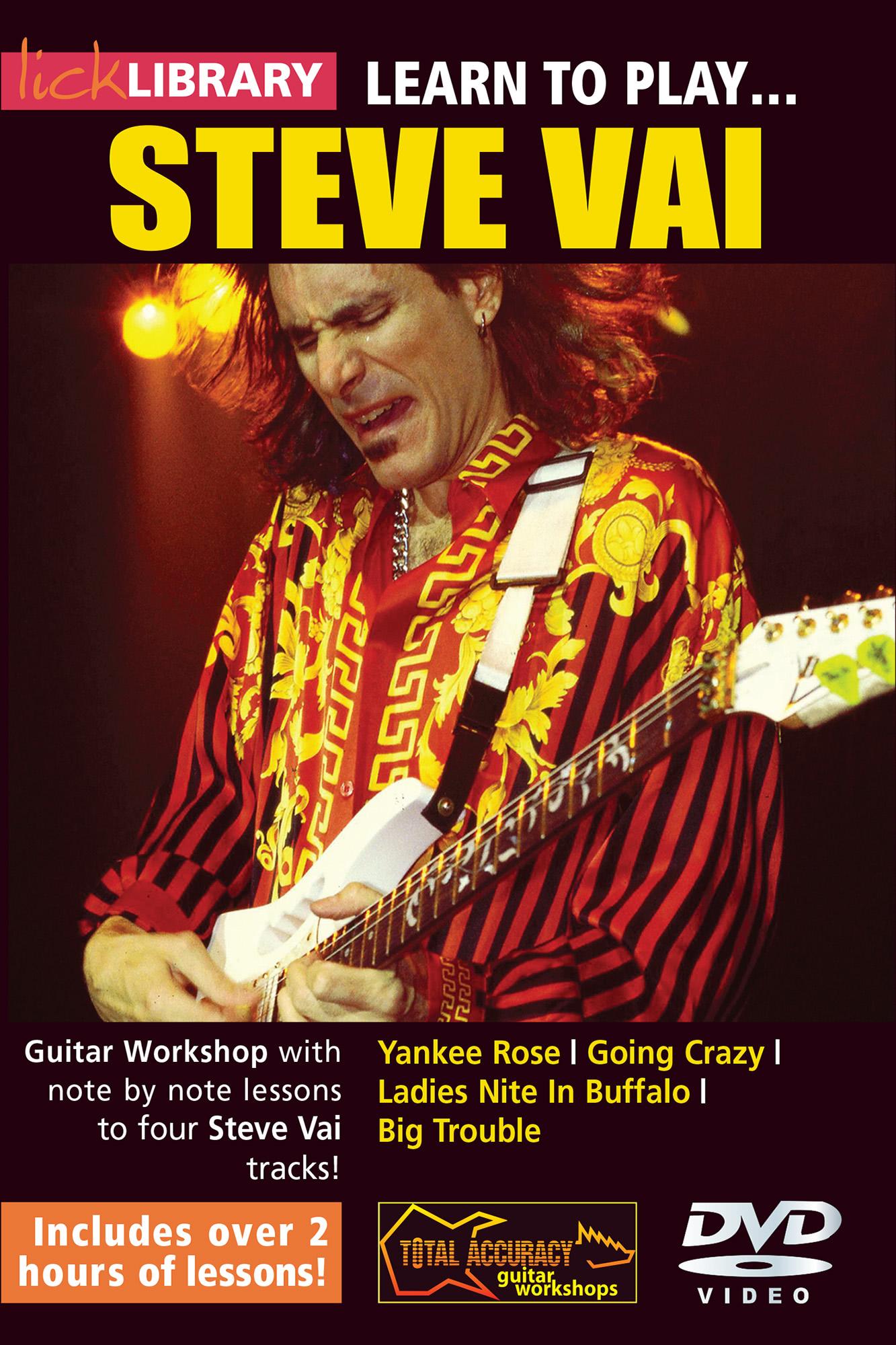 Learn To Play Steve Vai
