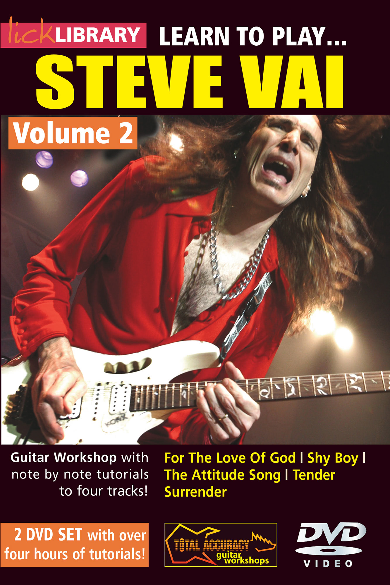Learn To Play Steve Vai Volume 2