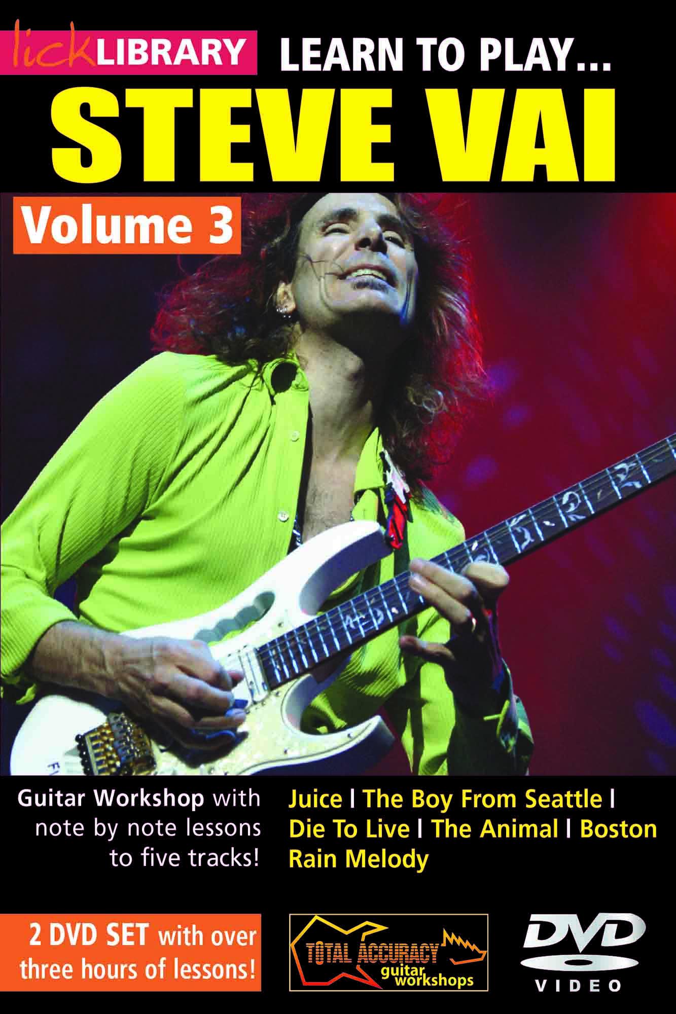 Learn To Play Steve Vai Volume 3
