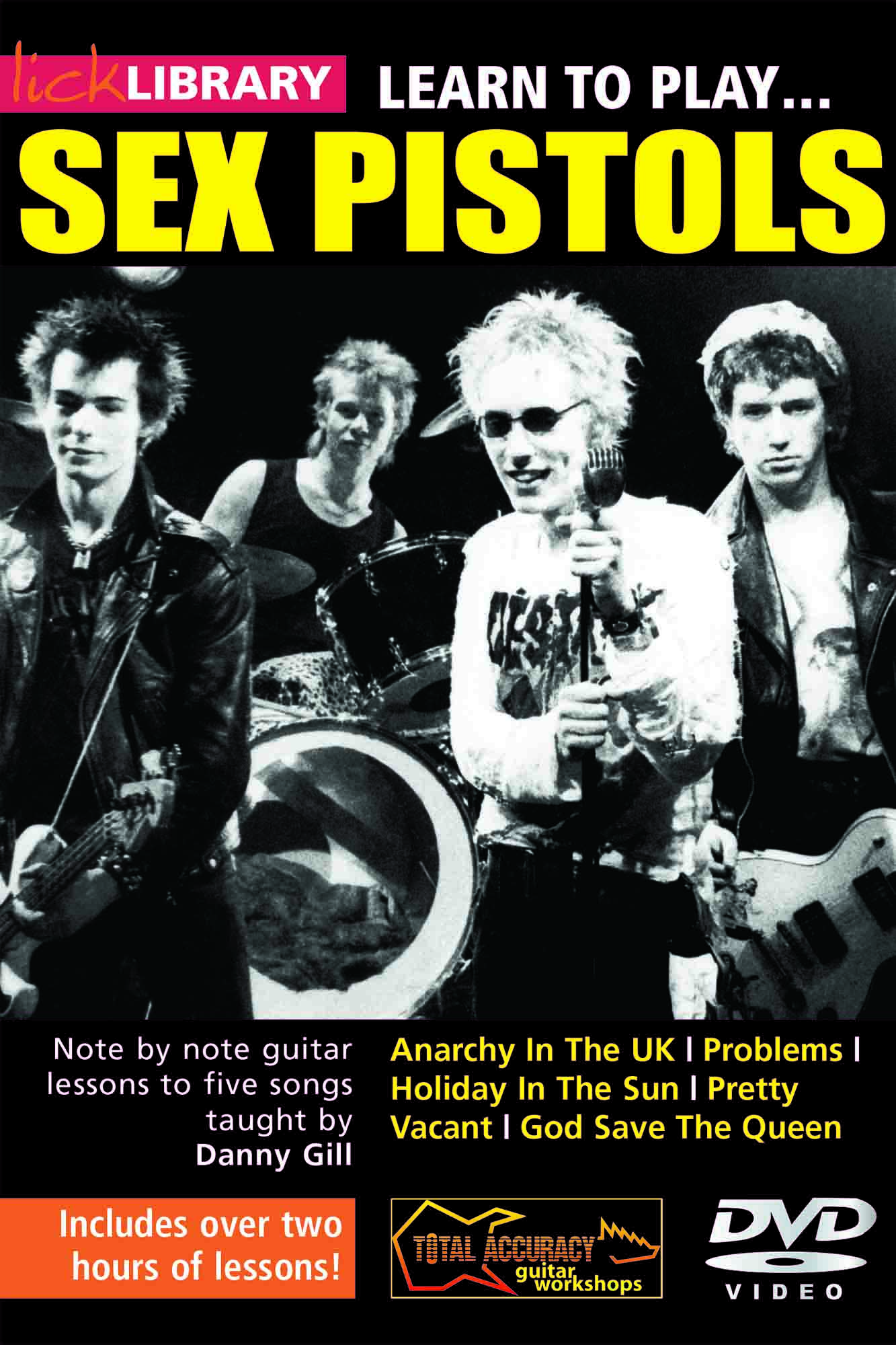 Learn To Play Sex Pistols