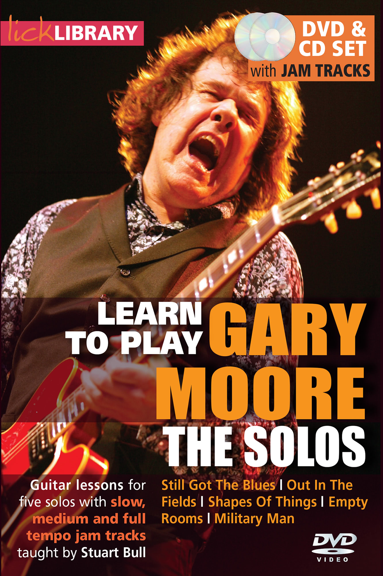 Learn To Play Gary Moore - The Solos
