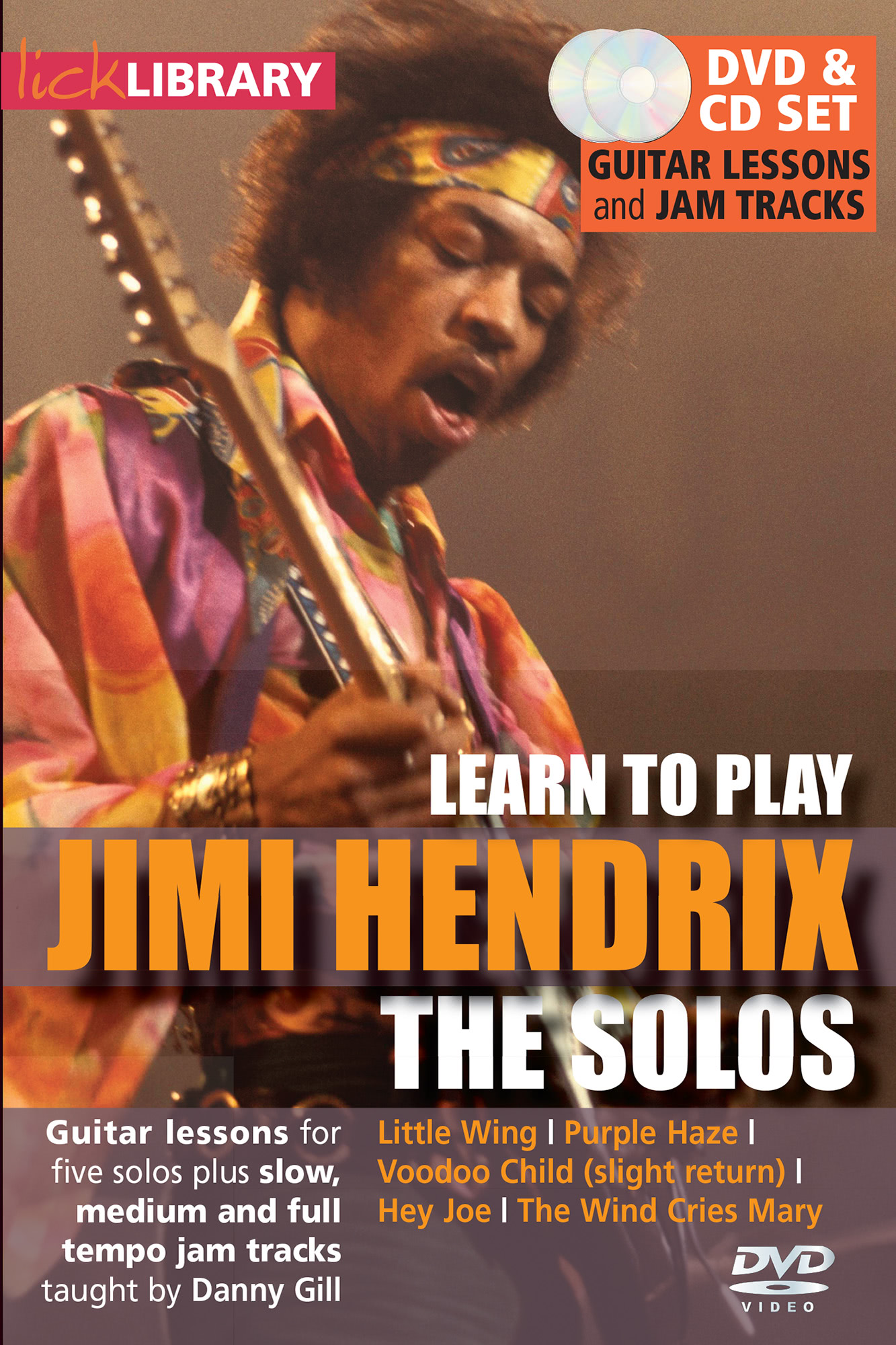 Learn To Play Jimi Hendrix - The Solos