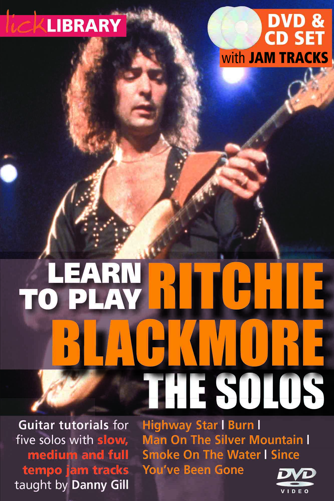 Learn To Play Ritchie Blackmore - The Solos