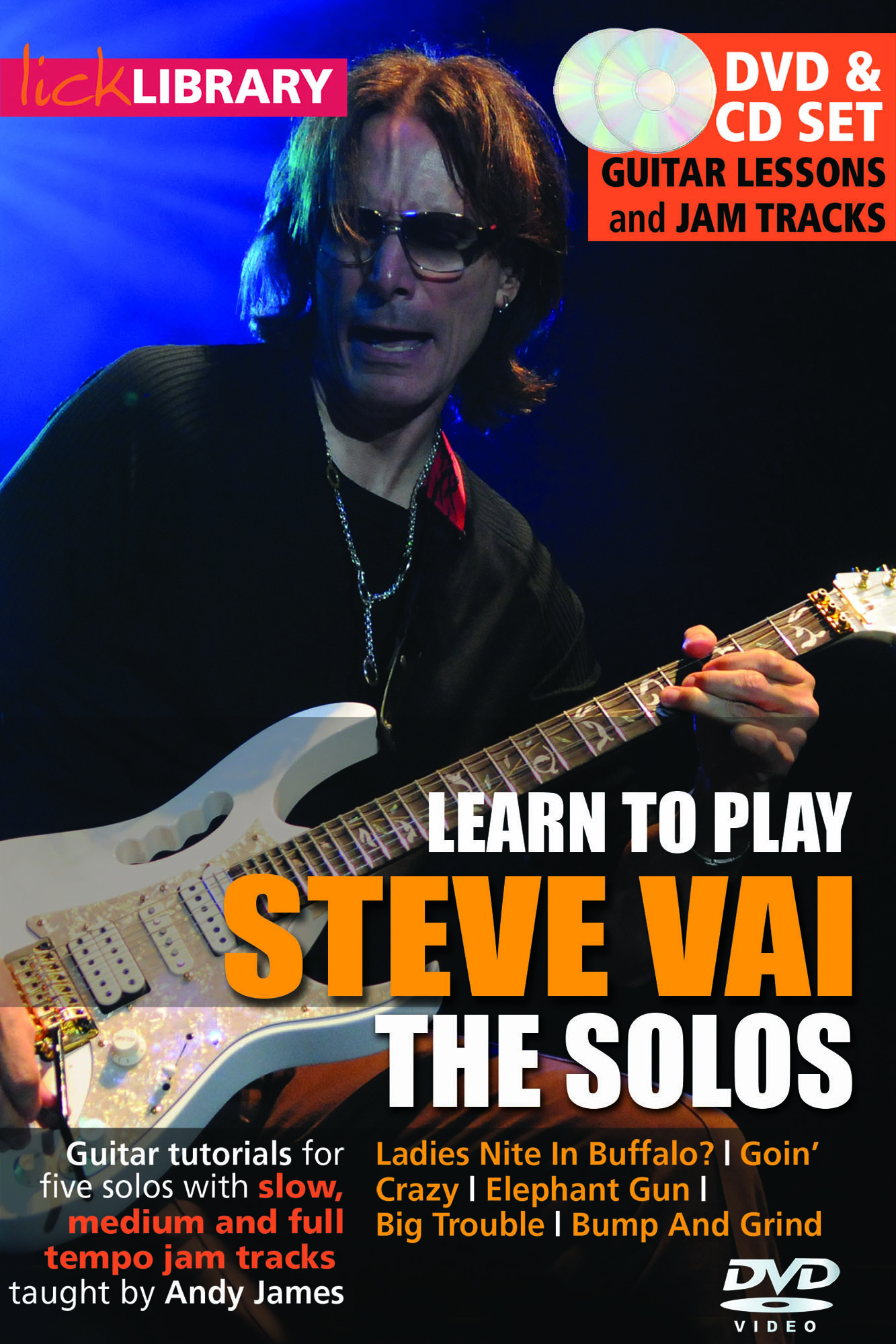 Learn To Play Steve Vai - The Solos