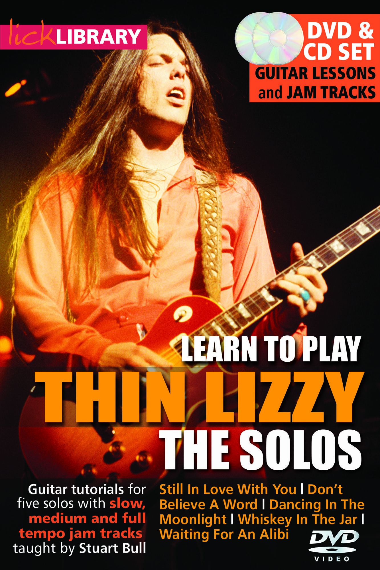 Learn To Play Thin Lizzy - The Solos