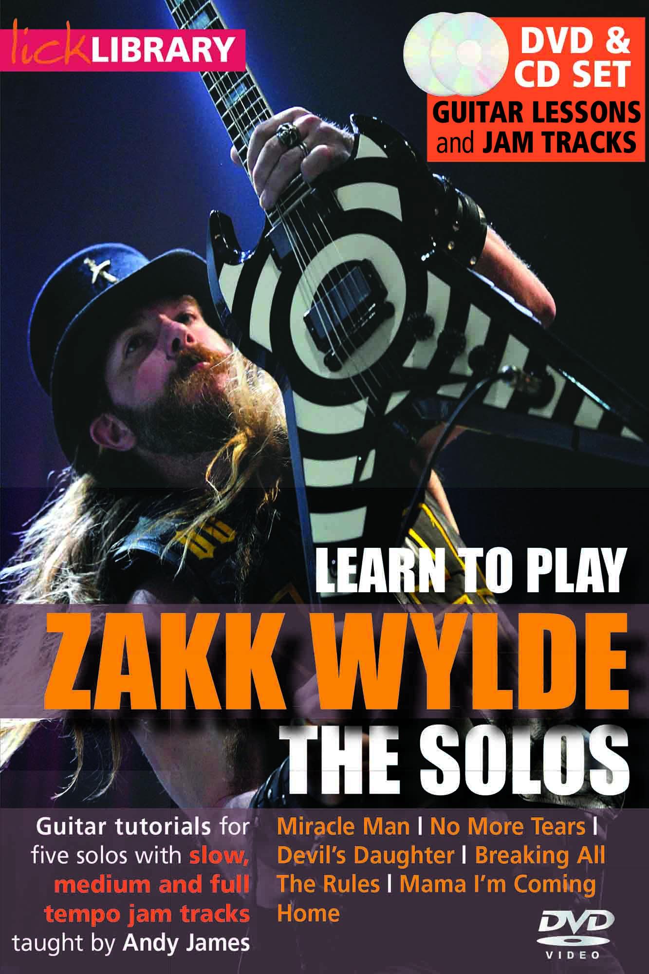 Learn To Play Zakk Wylde - The Solos