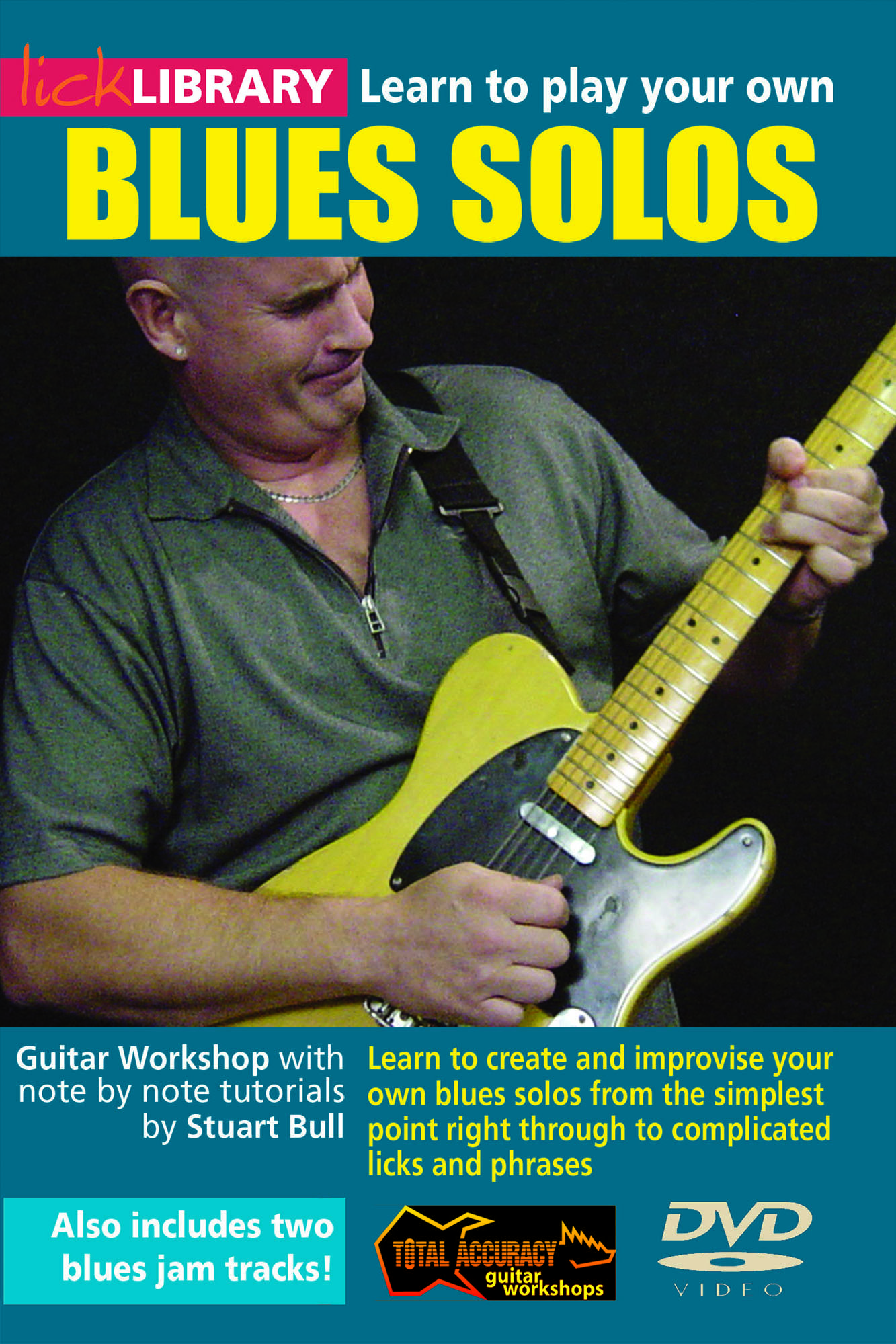 Learn To Play Your Own Blues Solos