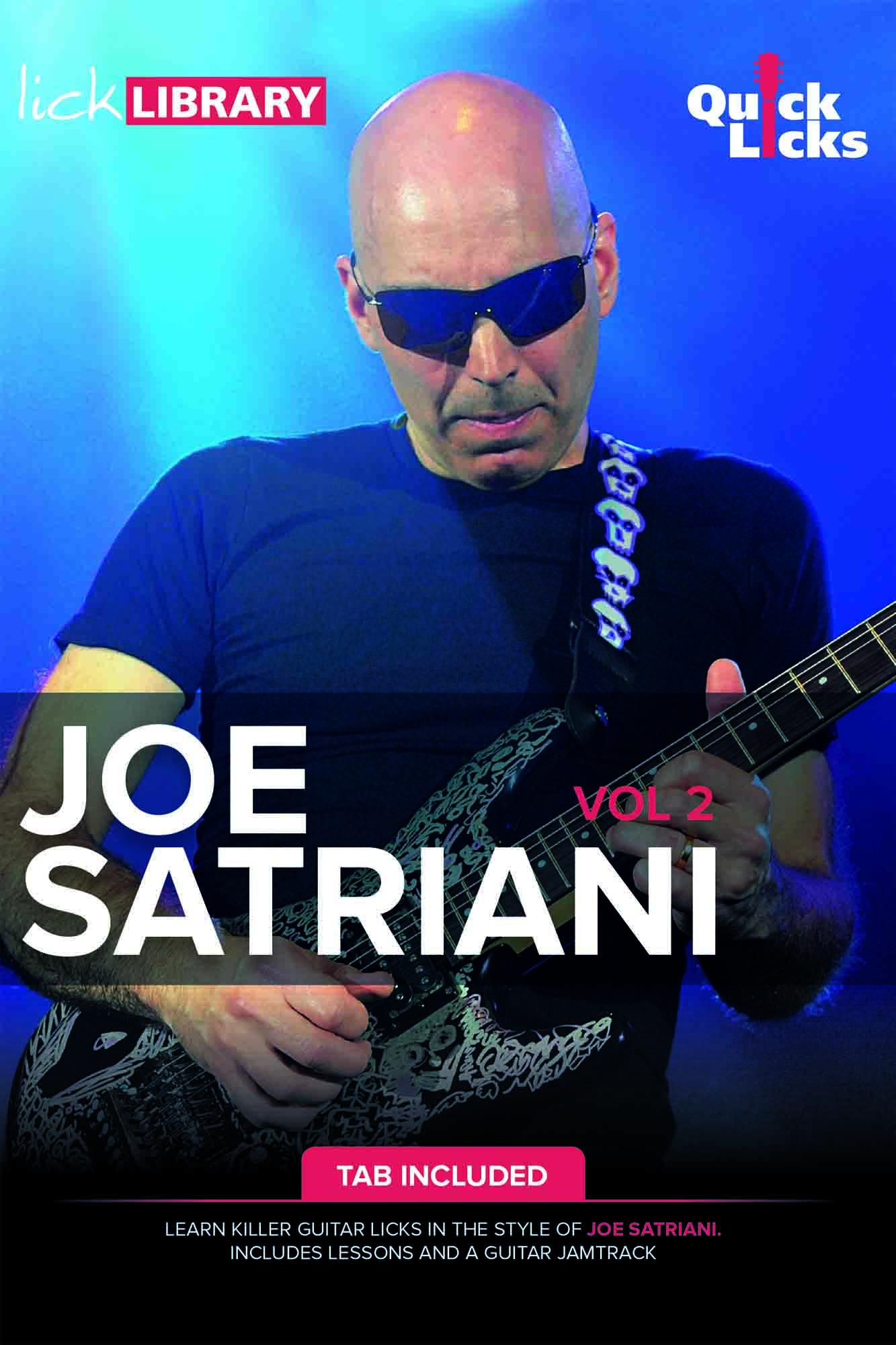 Quick Licks - Joe Satriani Volume 2
