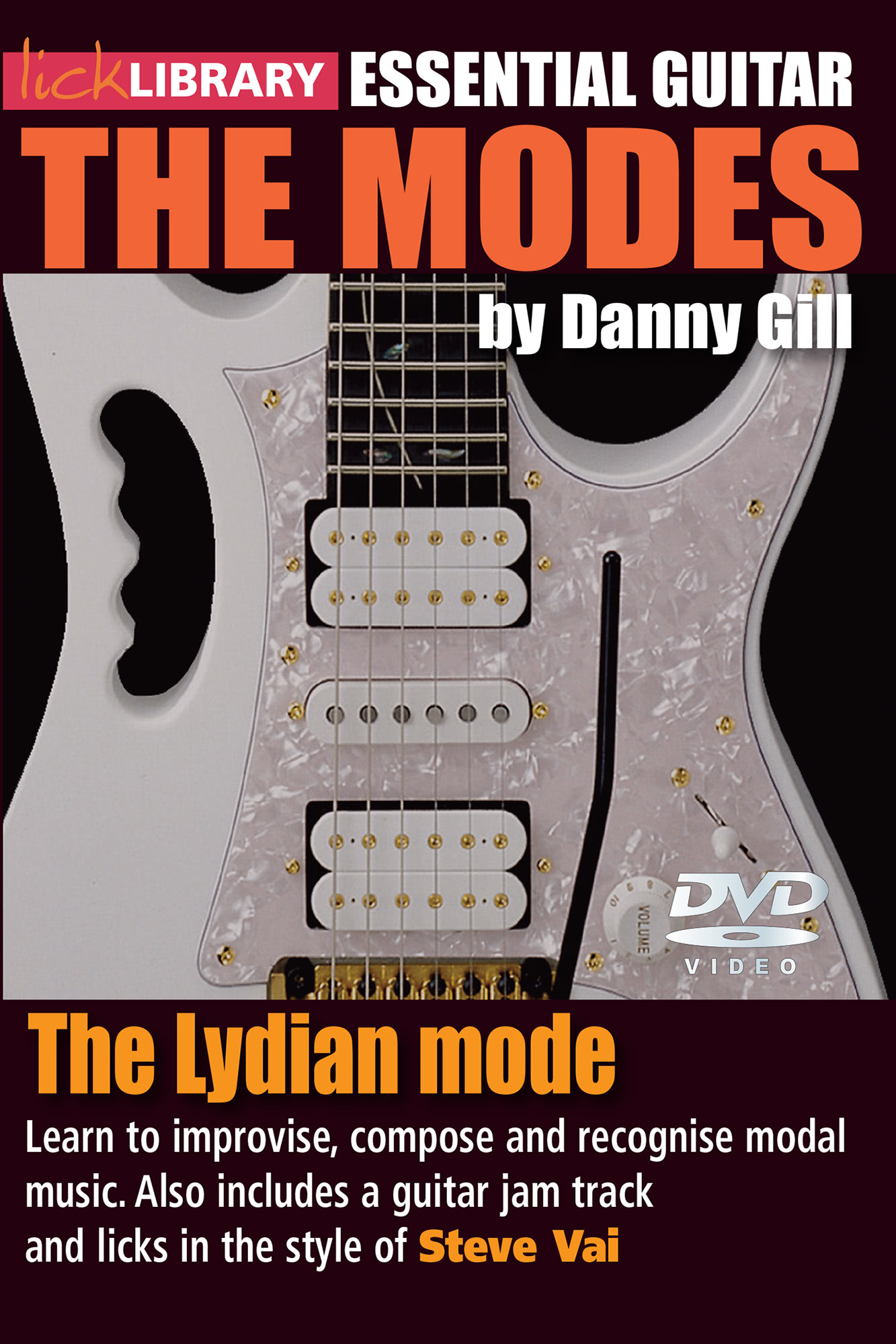 The Modes - Lydian - Steve Vai