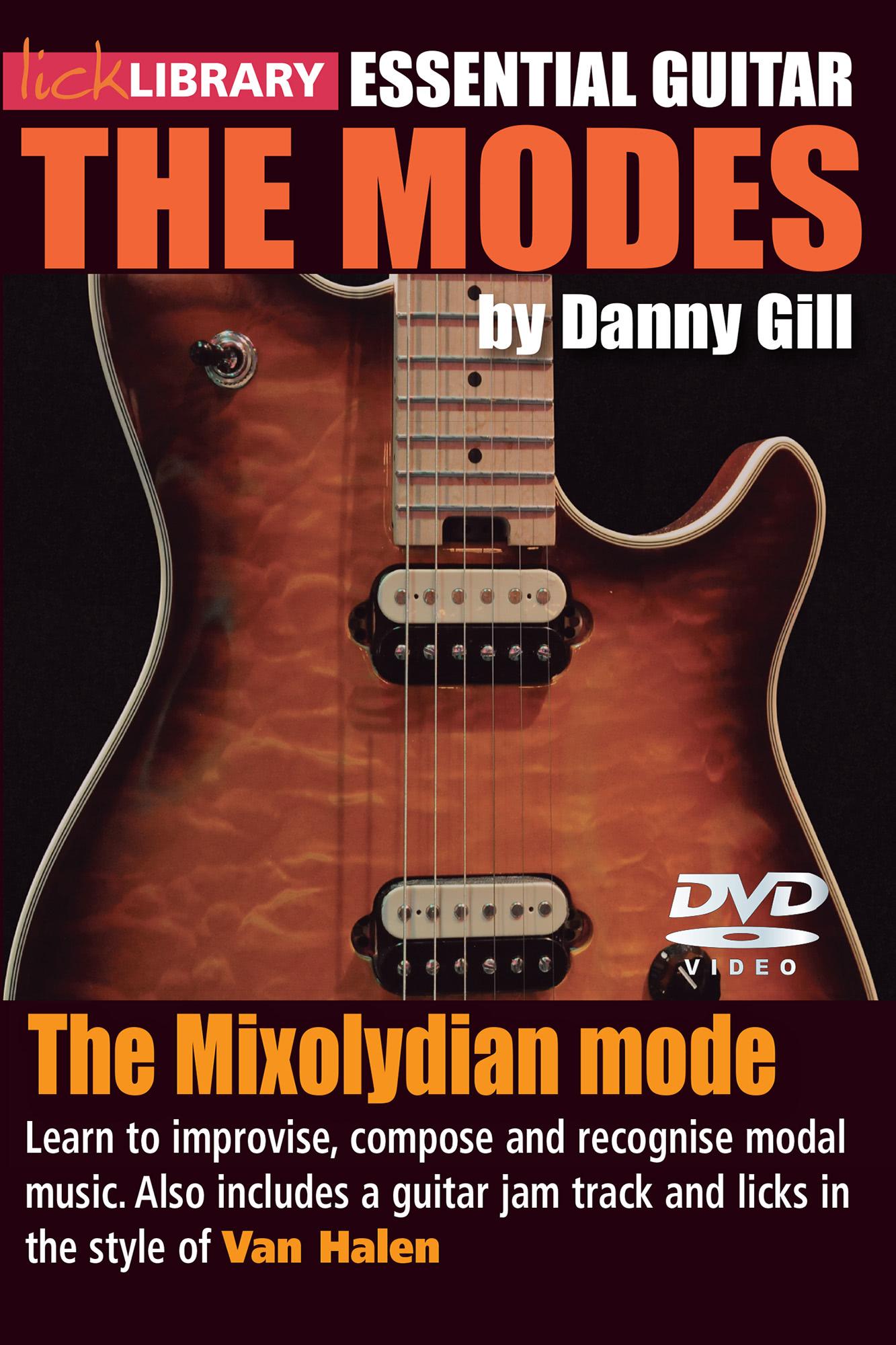 The Modes - Mixolydian - Van Halen