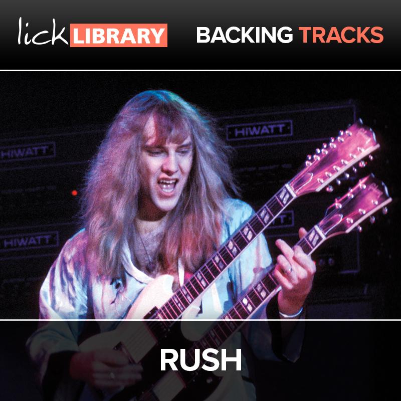 Rush - Backing Tracks